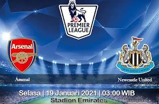 Prediksi Arsenal Vs Newcastle United 19 Januari 2021