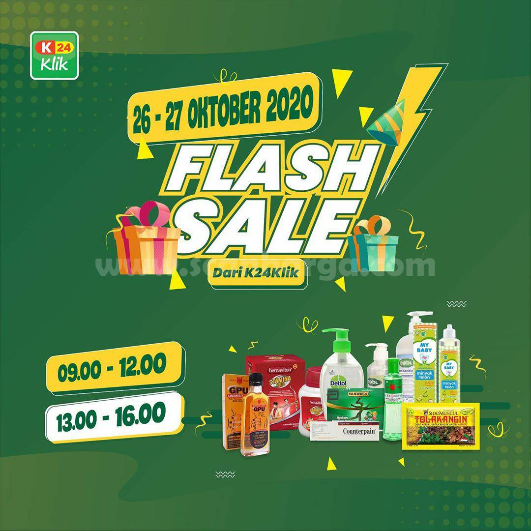 Promo K24 Klik Flash Sale Gila Gilaan*