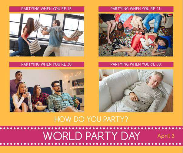 World Party Day Wishes Images