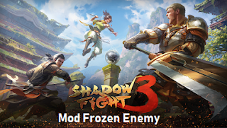 Game Shadow Fight 3 Mod Frozen Enemy for android