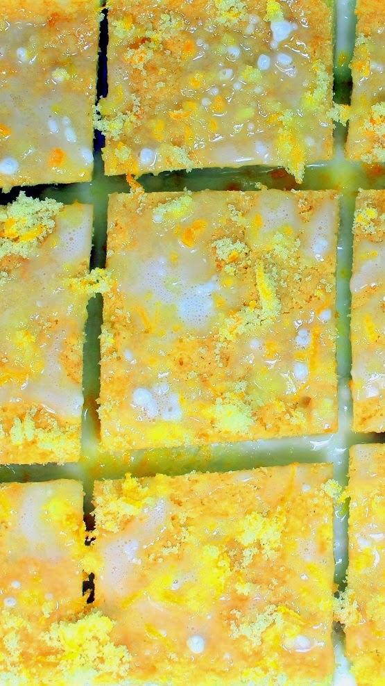 52 Ways To Cook Orange Drizzle Cake Squares 52 Cakes