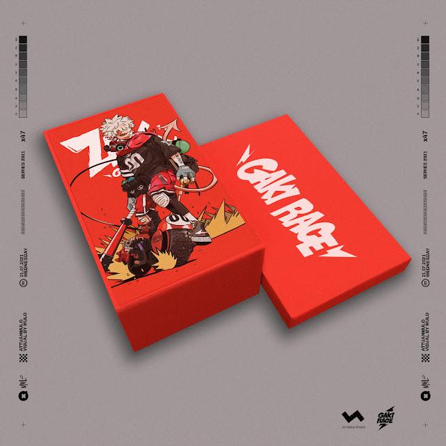 Mulo/Jei Tseng - JT Studio - Gaki Race - Rock the Hell