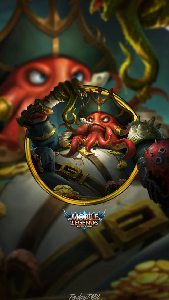 Wallpaper Bane Lord of Heptaseas Mobile Legends Full HD for Android and iOS