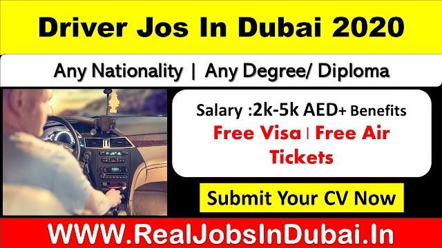 Driver Jobs In Dubai, Abu Dhabi, Ajman & Sharjah - 2020
