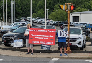 "In the News: ""Union says 2,000 educators received layoff notices at the end of this school year"""