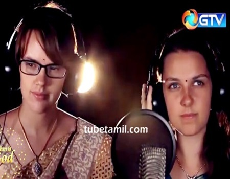 German Girls singing in Tamil Latest 2016