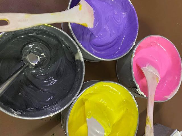 warnakan adunan