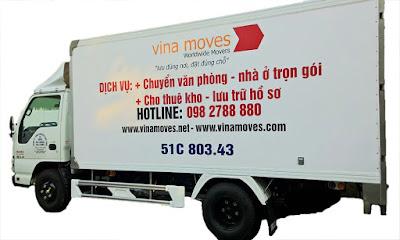 Vinamoves.vn dịch vụ chuyển văn phòng hàng đầu tại TPHCM
