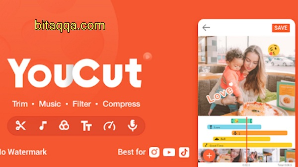 تطبيق YouCut