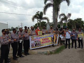 Kapolres Batubara Pimpin Jajaran Gelar Ops Yutisi 2020 Kota Indrapura