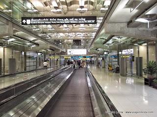 Relato da viagem do Nepal à Bangkok sobrevoando o Himalaia, com a empresa Jet Airways.