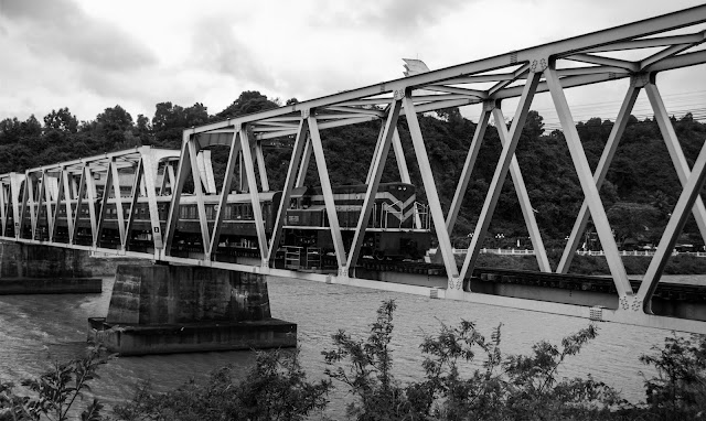 Bridge for train
