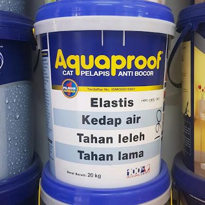 Cat Aquaproof Untuk Kolam Ikan