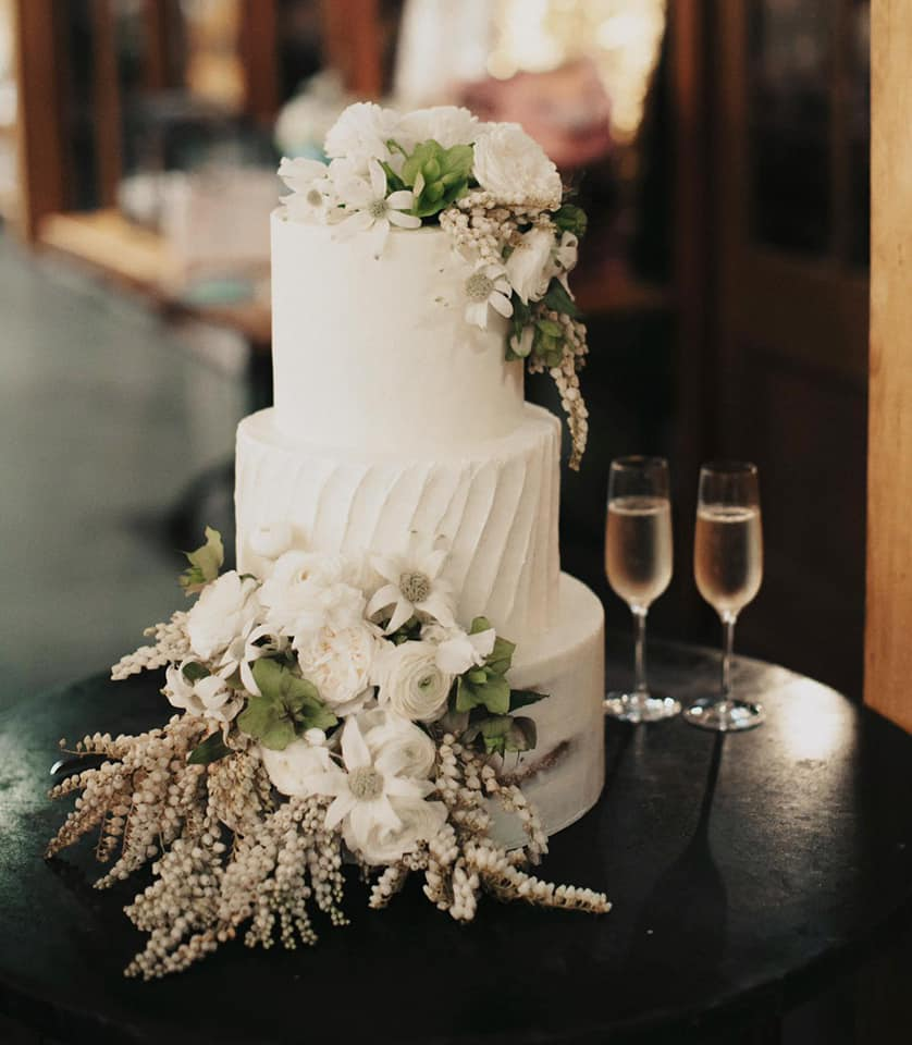 bespoke wedding floral cakes cookies desserts cake