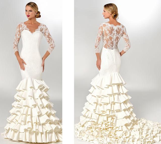 Precios de vestidos de novia en zarandona