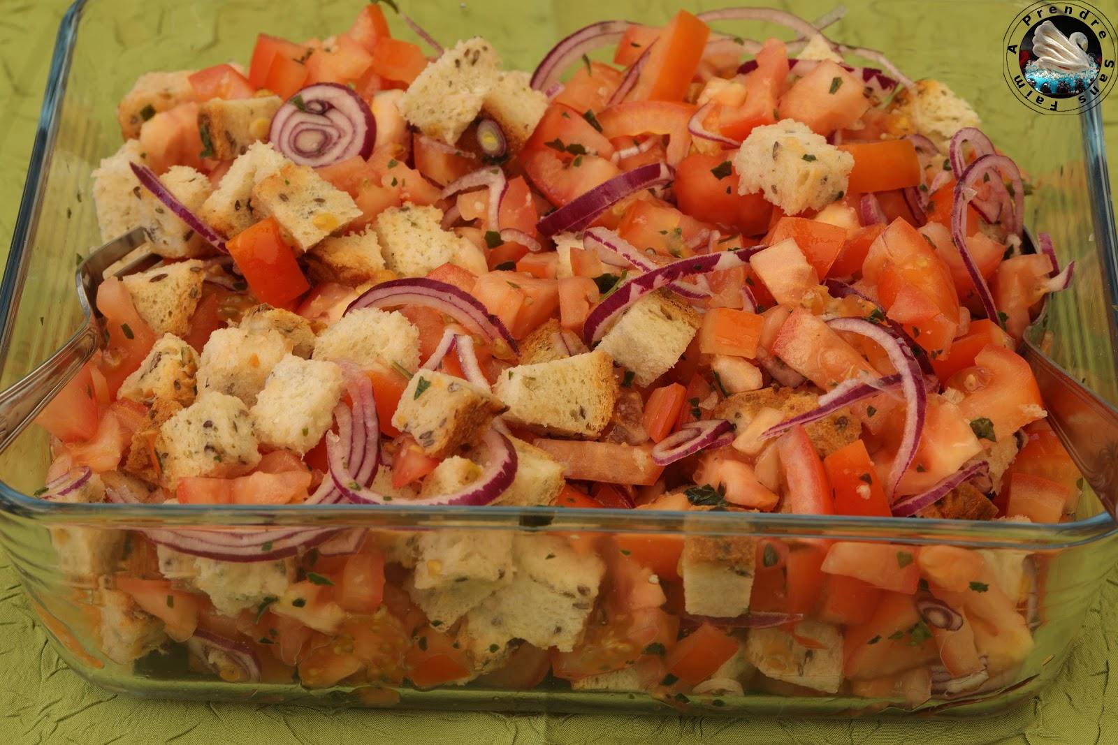 Salade panzanela