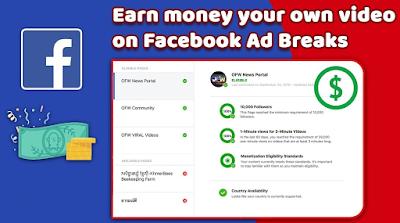 Cara Daftar dan Bermain Facebook Ad Breaks