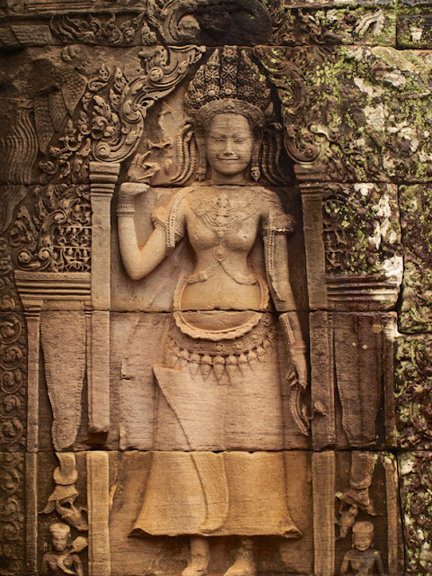 Muro-Bayon-Angkor-Apsara-Camboya