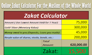 Zakat Calculator 2018 [Calculate Your Zakat Online]
