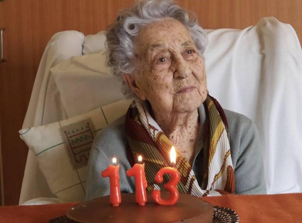 La personas más longeva de España