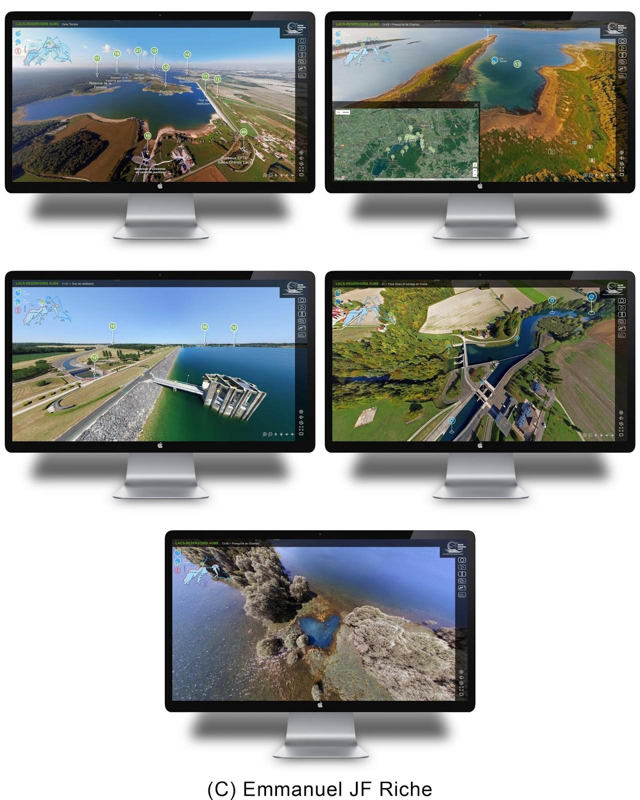 Acceder à la visite virtuelle 360°