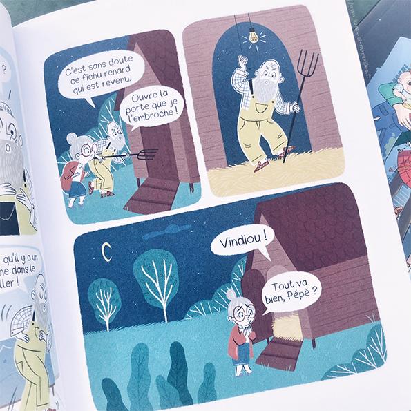 Bd jeunesse : Alfred & Maurice
