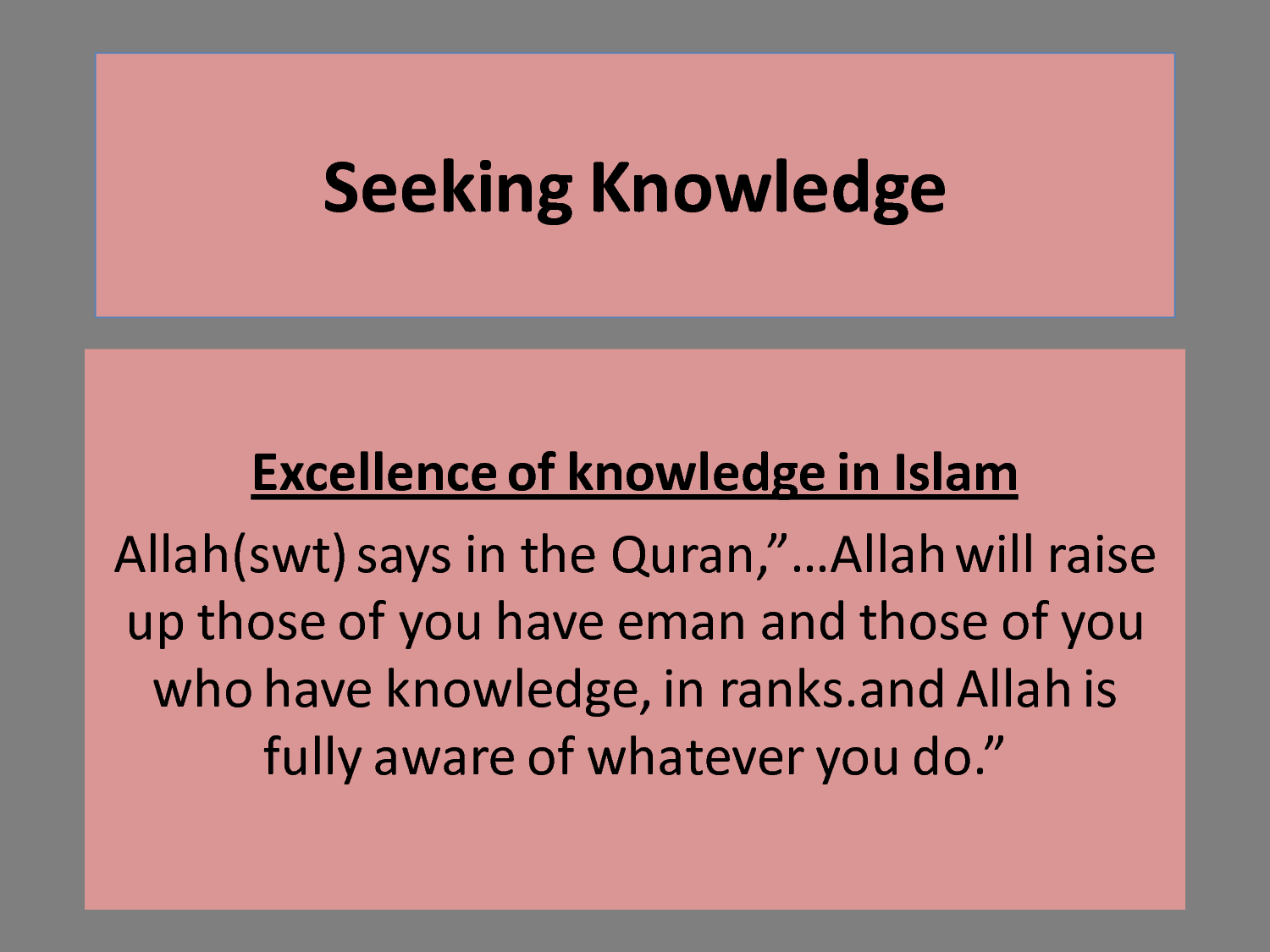 Quotes Education Islamic Quotes About Education  Articles About Islam