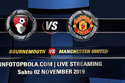 Live Streaming Bournemouth vs Manchester United
