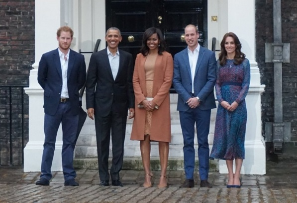 Queens Of England The Royal Family Welcome The Obamas