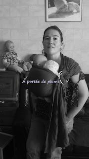 sling barbu colimaçon portage double jumeaux bébé prématuré babywearing twins