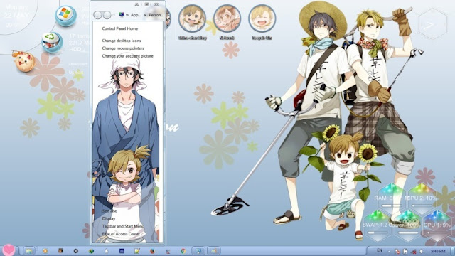 Barakamon Theme Win 7 by Bashkara