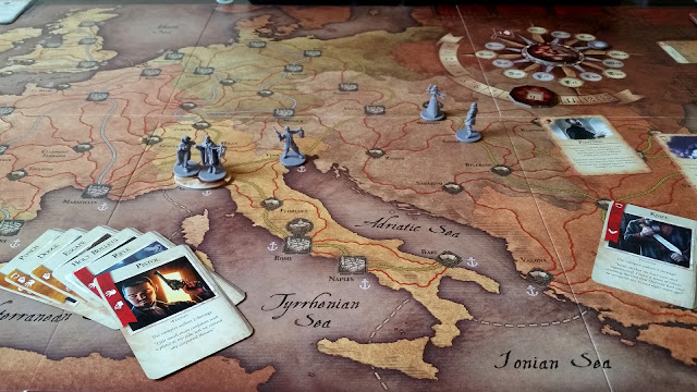 Fury of Dracula Review board setup