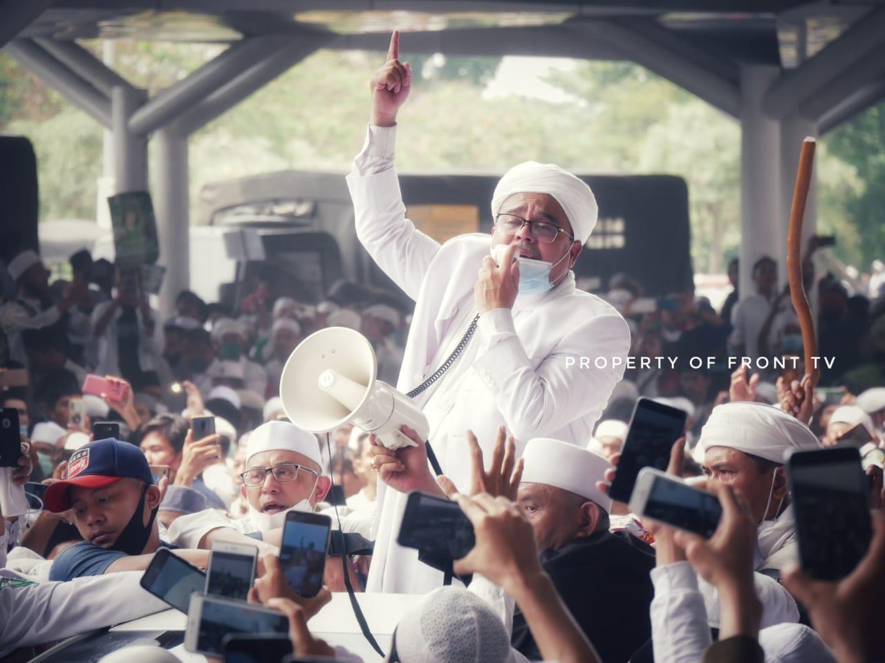 Terkait Rekonsiliasi, IB HRS: Bebaskan Dulu Ustadz Baasyir, Habib Bahar, Syahganda Dan Lainnya