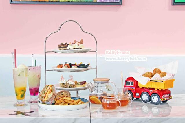Afternoon Tea Penang Attraction Must Visit in Penang Kids CEO Playland Cafe KellyFrans Penang Blogger Influencer