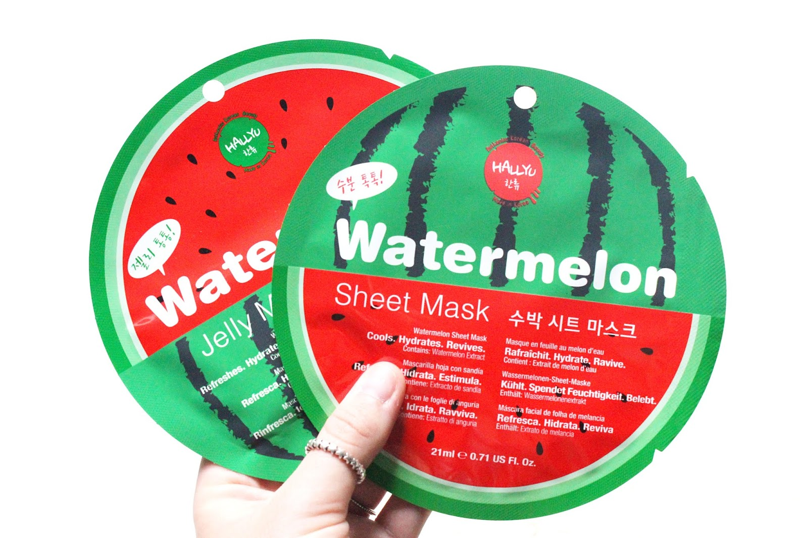Hallyu by MasqueBAR Watermelon Masks