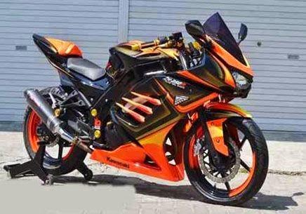 Modifikasi Motor Kawasaki Ninja