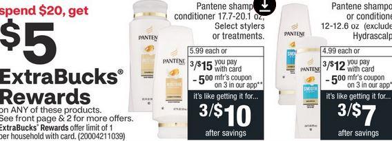 CVS Couponers Pantene Deal 10/11-10/17