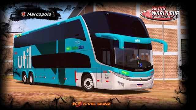PARADISO G7 1800 DD 6X2 - VIAÇÃO UTIL MIX LEITO PLUS
