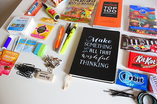 New Job Survival Kit Office Supplies, First Aid Kit, Snacks DIY