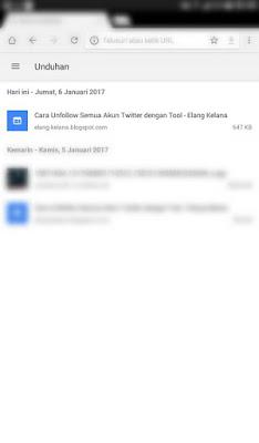 Tutorial Menyimpan Halaman di Google Chrome Android 6