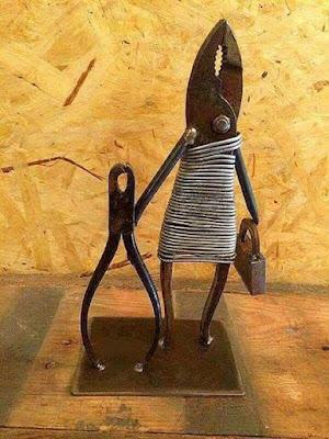 Ideias de artesanato incomuns aproveitando sucatas