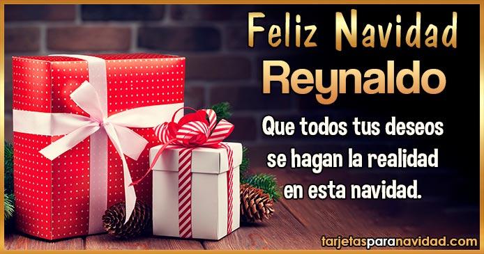 Feliz Navidad Reynaldo