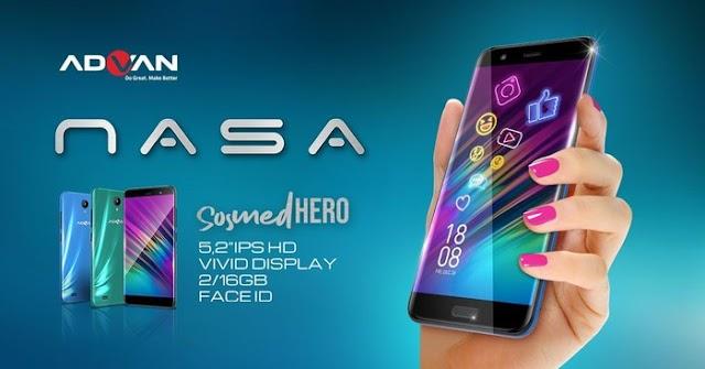 Spesifikasi Smartphone Advan Nasa