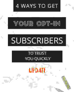 4 ways in which to induce Your prefer In Subscribers To Trust You Quickly