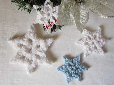snowflake, winter, Christmas, free crochet pattern, easy