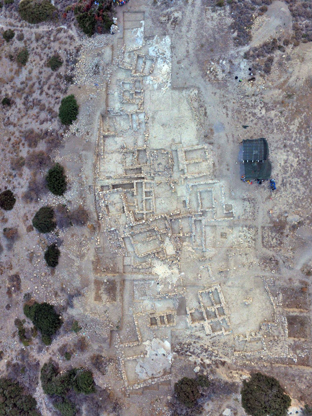 Excavation at Minoan cemetery of Petras 'left hanging'