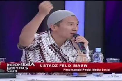 Felix Siauw, Berhentilah 'Ngapusi'Umat Islam