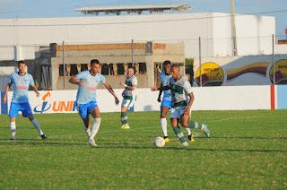 Nacional de Patos e Perilima empatam em partida com um gol em cada tempo