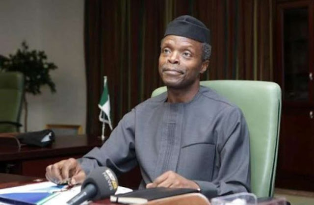 National Unity: Stop playing politics with matters concerning security-VP Osibanjo