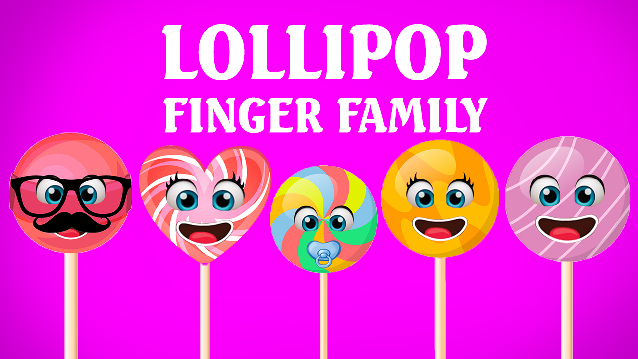 Lollipop Finger Family Song Finger Family Collection Nursery Rhymes For Children